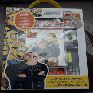 Despicable Me 3 Minions Sticker Pack